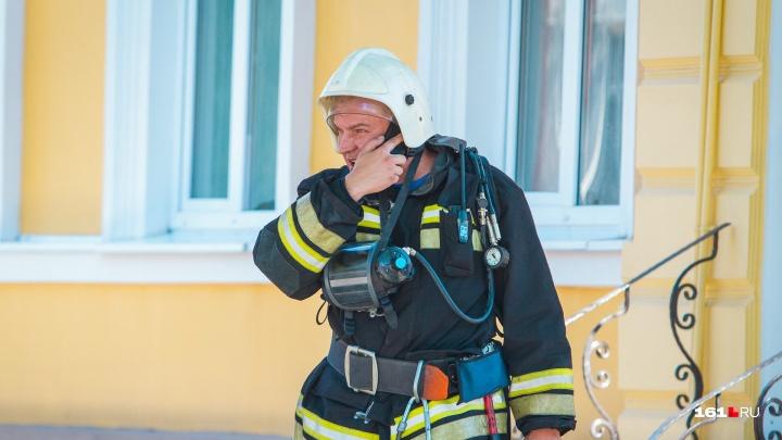 В Ростовской области при пожаре погиб человек
