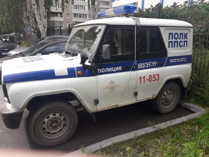 Машина, в которой изнасиловали девушку