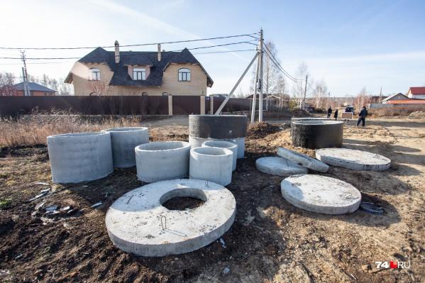 Строительство канализации вплотную подошло к посёлку Малиновка