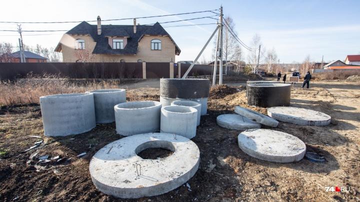 «Ведут к элитному жилью»: жители посёлка под Челябинском бастуют противстроительства канализации