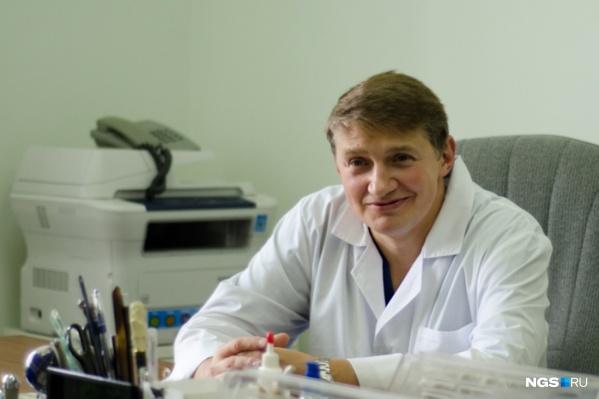 Павел Руденко — опытный нейрохирург