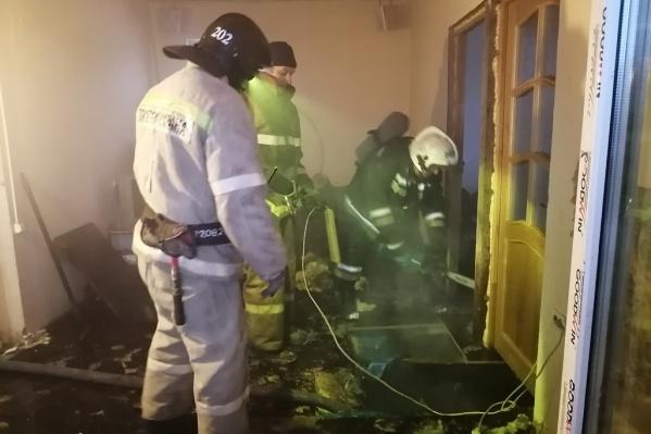 Мужчин обнаружили уже утром, когда спасти их было невозможно