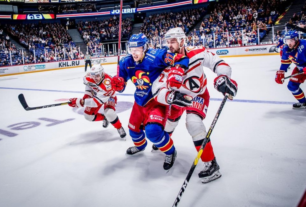 «Автомобилист» всухую разбил лидера западной конференции КХЛ, финский «Йокерит»