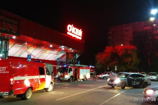 Люди во время пожара не пострадали