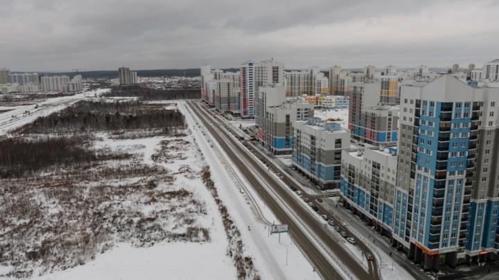 В Екатеринбурге начнут строить продолжение дороги, которая свяжет Академический и Широкую Речку