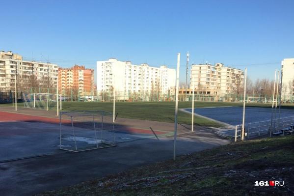 Жители выбрали построить школу на месте стадиона