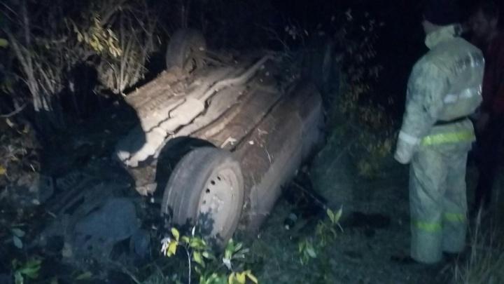 В Зауралье пьяный водитель вылетел с трассы. Погибла женщина