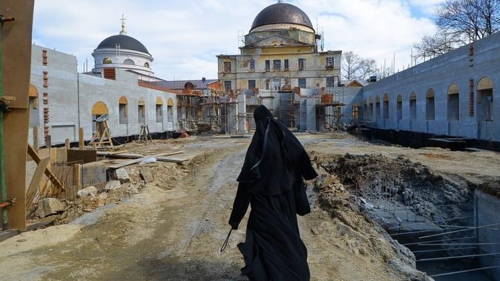 Госохрана: Успенскую церковь в Екатеринбурге восстанавливали без разрешения