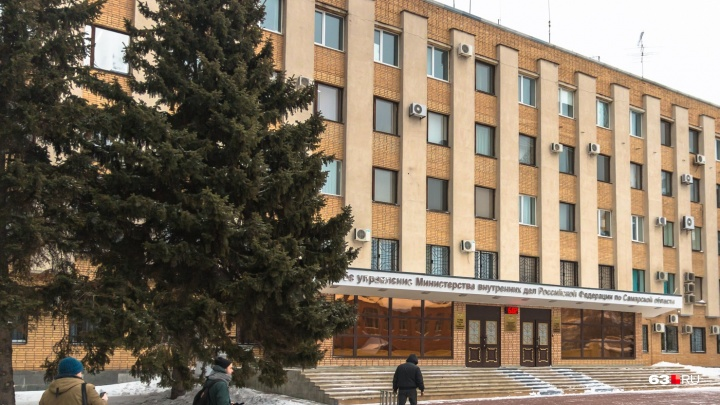 К самарским полицейским нагрянула проверкасобственной безопасности МВД
