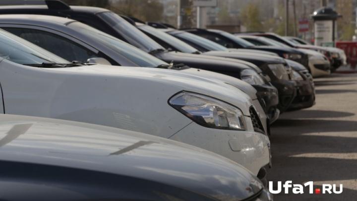 В Уфе судебные приставы за долги арестовали Audi