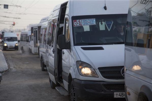 Стоимость билета в маршрутках выросла на три рубля