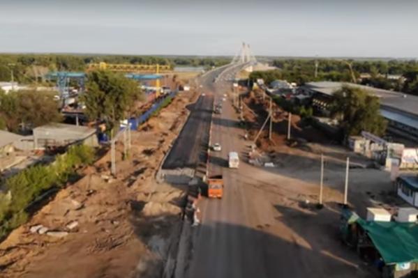 Зрительно ширина магистрали увеличилась почти в два раза