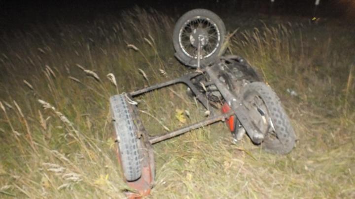 В Частоозерском районе столкнулись BMW X5 и мотоцикл: мотоциклист погиб