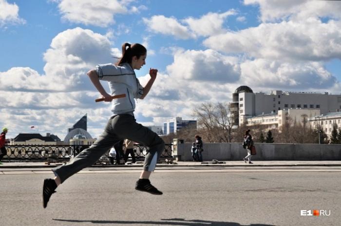 Спортсмены побегут по центру Екатеринбурга