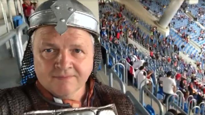«Выжимали носки и брюки»: впечатления красноярца, побывавшего на матче «Россия — Египет»