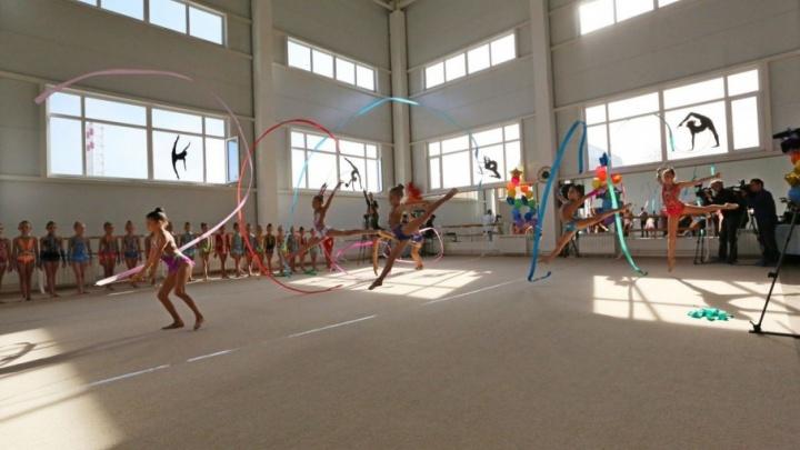 В Уфе на месте промышленного предприятия открыли центр детской гимнастики