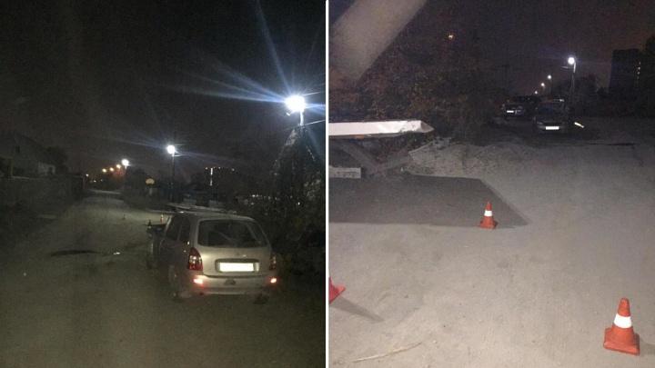 Лишённый прав водитель «Калины» сломал череп в ДТП с припаркованным авто