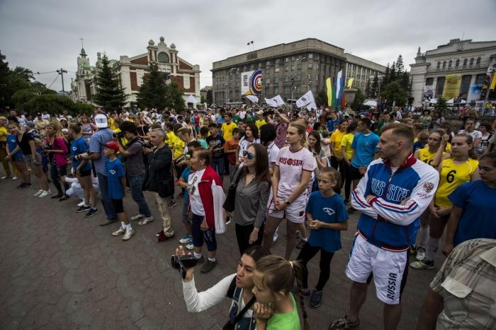 День города в Новосибирске, 25 июня 2017 года