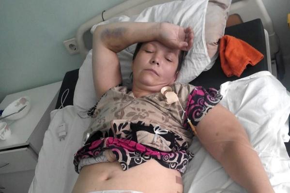 После операции в Краснозёрской районной больнице у Оксаны Бугояк отказали почки
