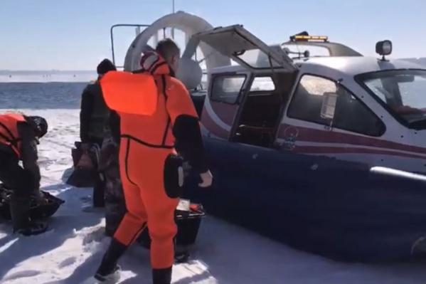Спасательная операция заняла 15 минут