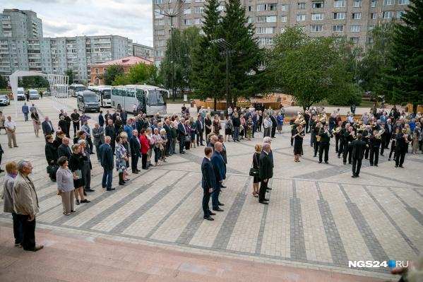 Церемония прощания с Павлом Федиркосостоялась сегодня в БКЗ