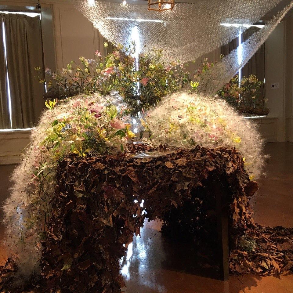 Новосибирский флорист стал победителем всемирного конкурса сбукетом изпушинок