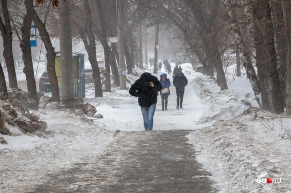 В ближайшие дни в Самаре стоит ждать снега и потепления