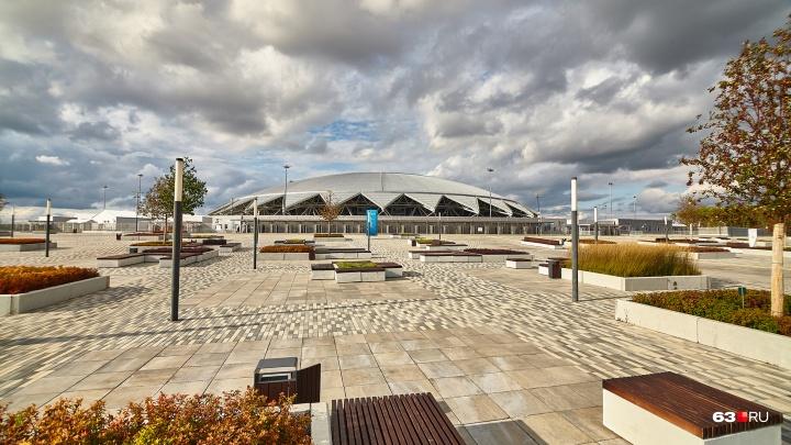 Проектирование ледового дворца у «Самара Арены» доверили строителям дорог и штукатурам