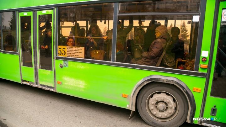 В Красноярске перестали работать приложения с автобусами