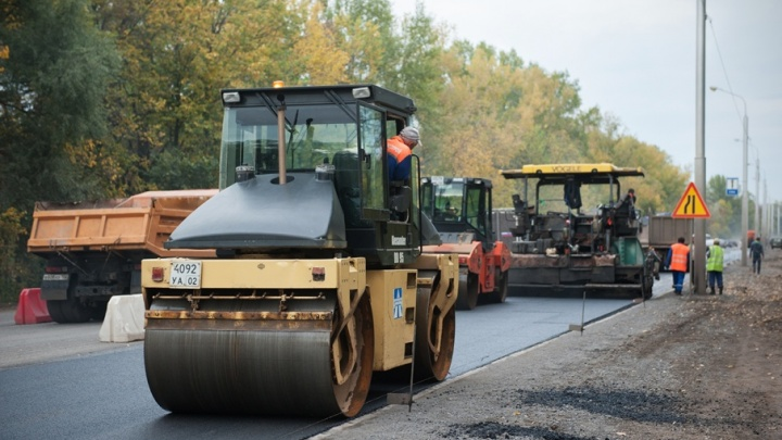 Уфимские власти потратили 1,3 миллиарда рублей на ремонт дорог
