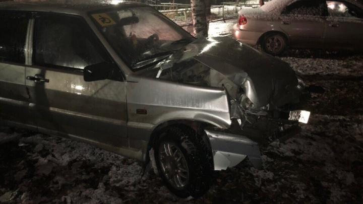 «Нарушитель скрылся»: в Перми ищут очевидцев ДТП, в котором пострадал водитель «Лады»