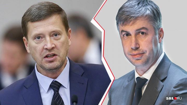 Логвиненко заранее «поздравили» с назначением на должность сити-менеджера Ростова