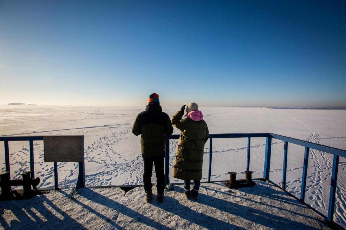 Сидней Сибилиа и Грета Скарано говорят, что никогда не видели столько снега
