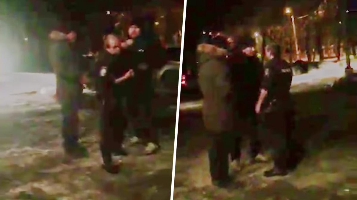 Свидетели происшествия посчитали, что полицейские были пьяны