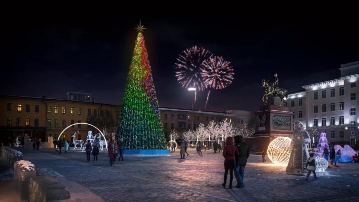 Дизайнеры показали, как будет выглядеть Советская площадь в Уфе после реконструкции