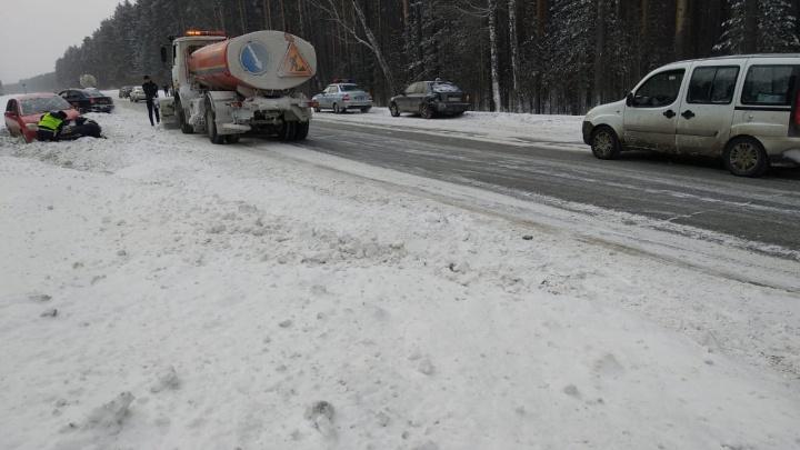 «Машины врезались, как в фильме ужасов»: подробности массового ДТП на Челябинском тракте