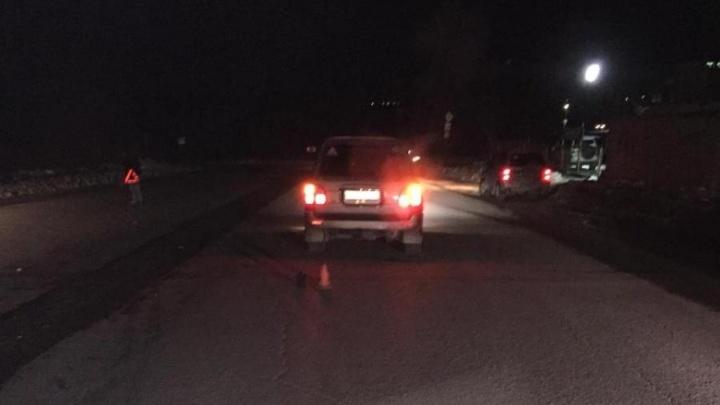 Пешеход получил тяжёлые травмы под колёсами Lexus на Тайгинской