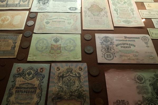 В краеведческом музее воссоздали кабинет служащего Волжско-Камского банка
