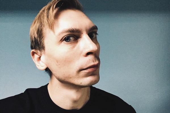 Владимир Котляров — вокалист группы «Порнофильмы» из Дубны