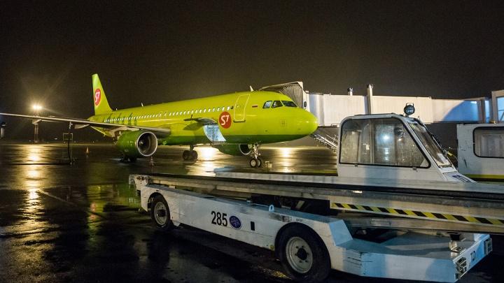 Лазерный луч прошёлся по кабине самолёта из Новосибирска: полиция сейчас ищет хулиганов