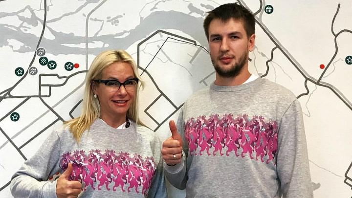 Новосибирцы выпустили коллекцию одежды с хороводами пляшущих соболей