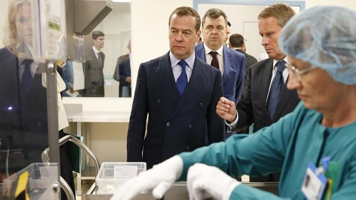 Медведев потребовал наказать чиновников, срывающих сроки по программе «Здравоохранение»