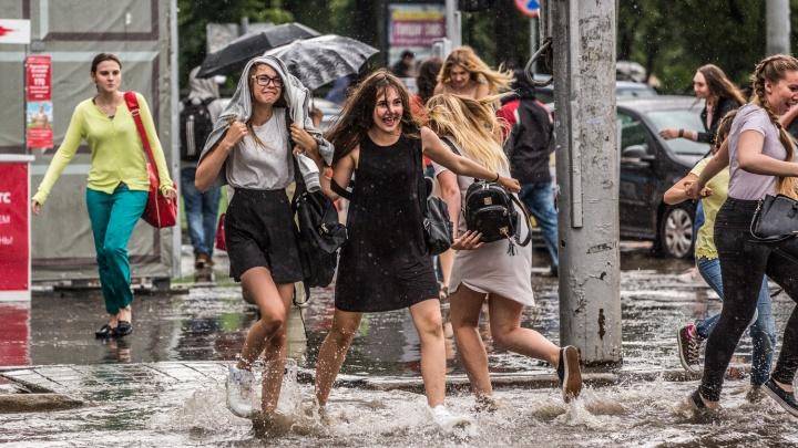 К Новосибирской области приближается новая волна дождей