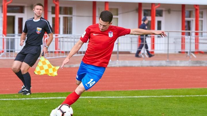 ФК СКА сыграл против команды «Легион-Динамо»