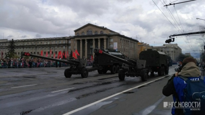День Победы в Красноярске. Показываем самые яркие и трогательные моменты