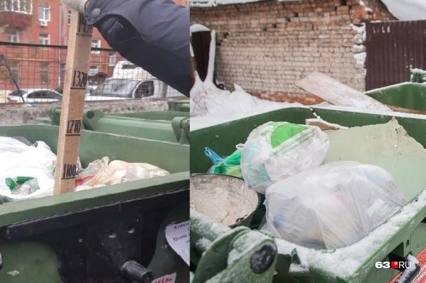 Горожане сами проверили, сколько мусора собирается в баках
