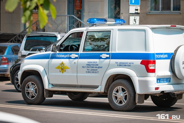 Полиция задержала преступника по горячим следам
