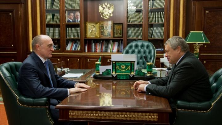 Дубровский договорился с первым предприятием о льготах взамен на чистый воздух