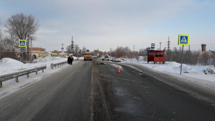 Водитель «Мерседеса» сбил девушку насмерть на Утевской