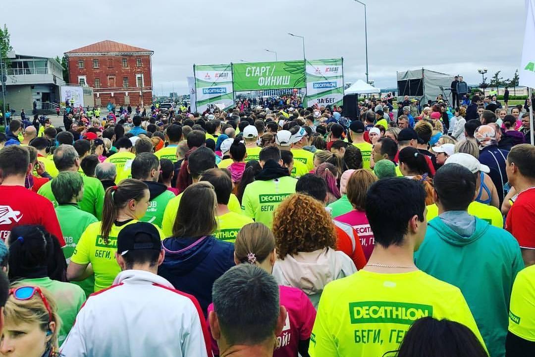 На дистанцию вышли более 3600 участников